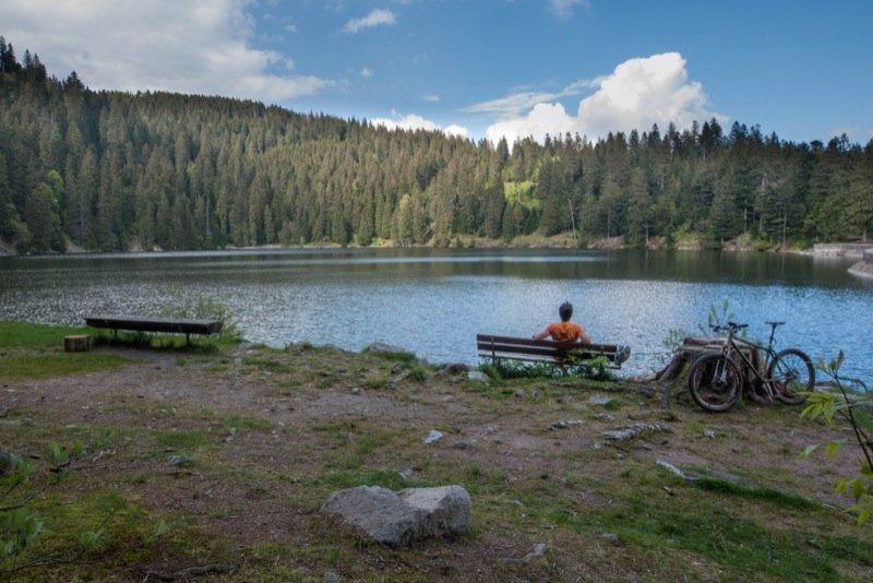 Pause au Lac Vert