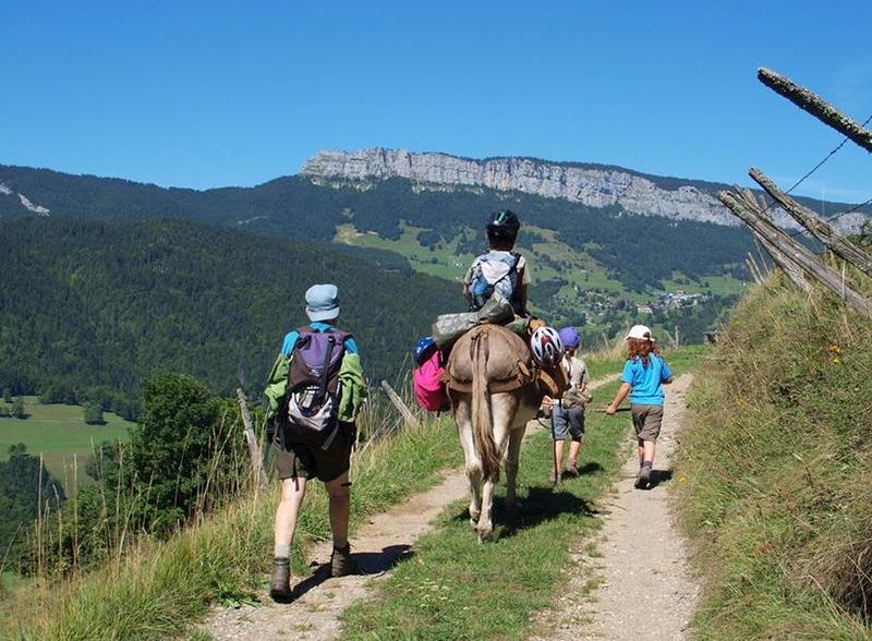Avec mon âne dans le Parc de la Chartreuse - accompagné et en itinérance