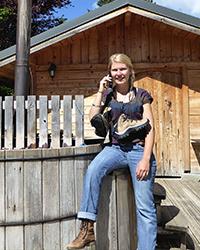 Julie, spécialiste des randonnées liberté chez Arcanson